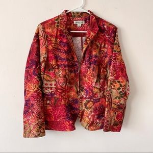 🌻Floral Statement Jacket